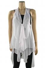 Tidal Vest in White