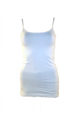 Long Camisole in Ivory