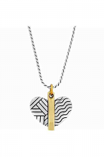 Acoma Petite Heart Necklace