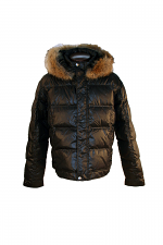 Quilted Down W-Fur Trim