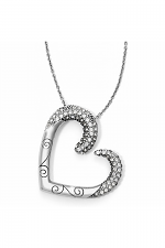 Cristalina Heart Necklace