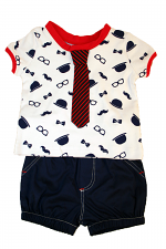 Boys 2PC Lad Short Set