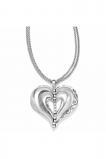 Kinetic Heart Convertible Necklace