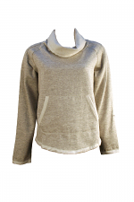 Cowl Neck W-Pocket