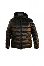 Zip Up Down Hooded Jacket
