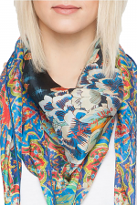 Bekka Scarf in Blue