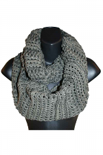 Infinity Scarf in Gray