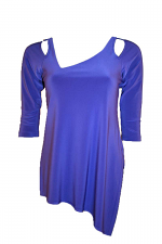 3/4 SLV Focus Tunic With Slant