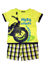 Boys 2PC Here Comes Trouble Set