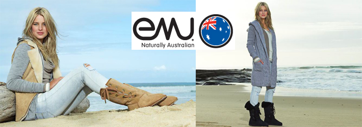 EMU Australia produces sheepskin boots and slippers for women, men and kids using the finest Australian Merino sheepskin available